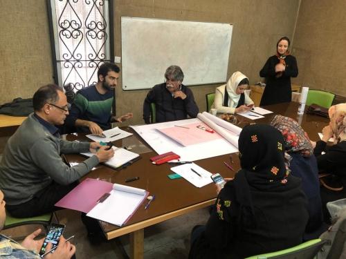 انجمن طراحان فرش تهران ورکشاپ موزه فرش97 (2)