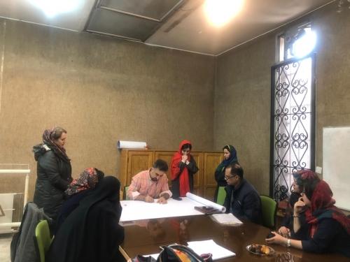انجمن طراحان فرش تهران ورکشاپ موزه فرش97 (3)