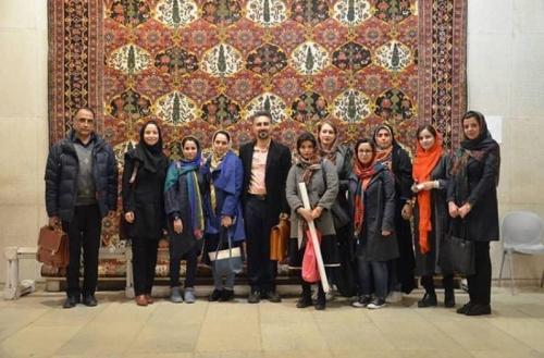 انجمن طراحان فرش تهران ورکشاپ موزه فرش97 (4)
