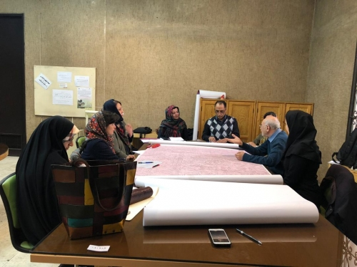 انجمن طراحان فرش تهران ورکشاپ موزه فرش97 (5)