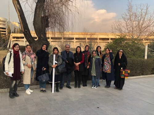 انجمن طراحان فرش تهران ورکشاپ موزه فرش97 (6) (1)