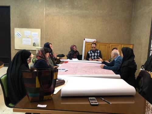 انجمن طراحان فرش تهران ورکشاپ موزه فرش97 (7)