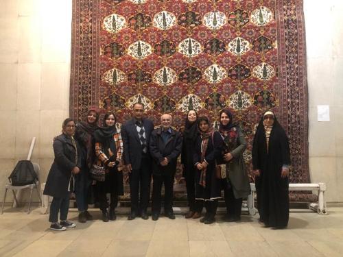 انجمن طراحان فرش تهران ورکشاپ موزه فرش97 (8)
