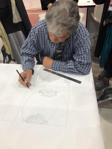 انجمن طراحان فرش تهران ورکشاپ نمایشگاه فرش97 (10)