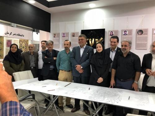 انجمن طراحان فرش تهران ورکشاپ نمایشگاه فرش97 (5)