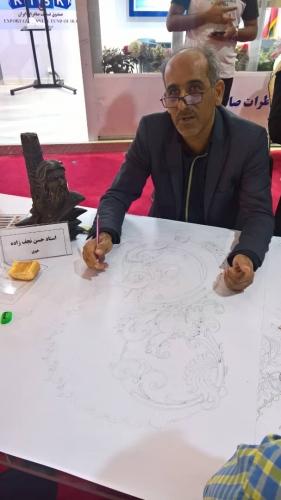 انجمن طراحان فرش تهران ورکشاپ نمایشگاه فرش98 (13)