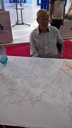 انجمن طراحان فرش تهران ورکشاپ نمایشگاه فرش98 (14)