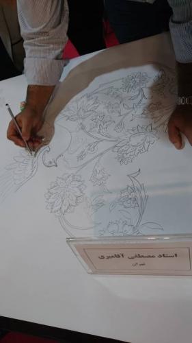 انجمن طراحان فرش تهران ورکشاپ نمایشگاه فرش98 (22)