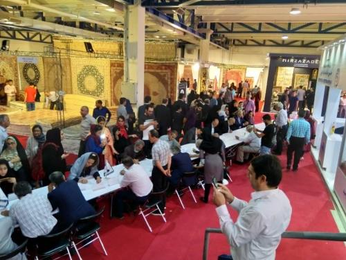 انجمن طراحان فرش تهران ورکشاپ نمایشگاه فرش98 (24)