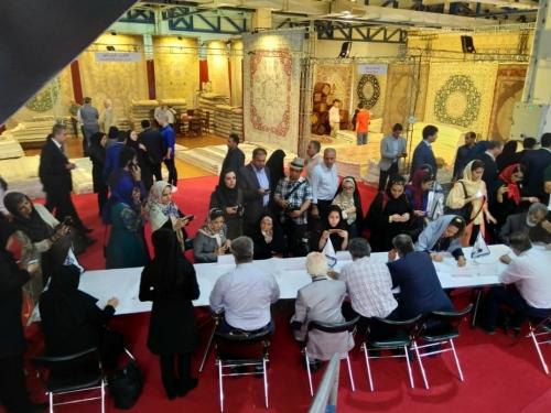 انجمن طراحان فرش تهران ورکشاپ نمایشگاه فرش98 (3)